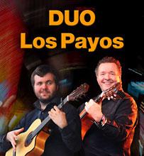 Duo Los Payos der spanischen Coverband Gipsy Family Los Payos