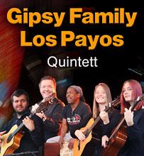 Spanische Gipsy Kings Coverband Gipsy Family Los Payos mit Ihren spanischen Gitarren