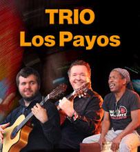 Spanische Coverband Trio Los Payos mit ihren spanischen Gitarren