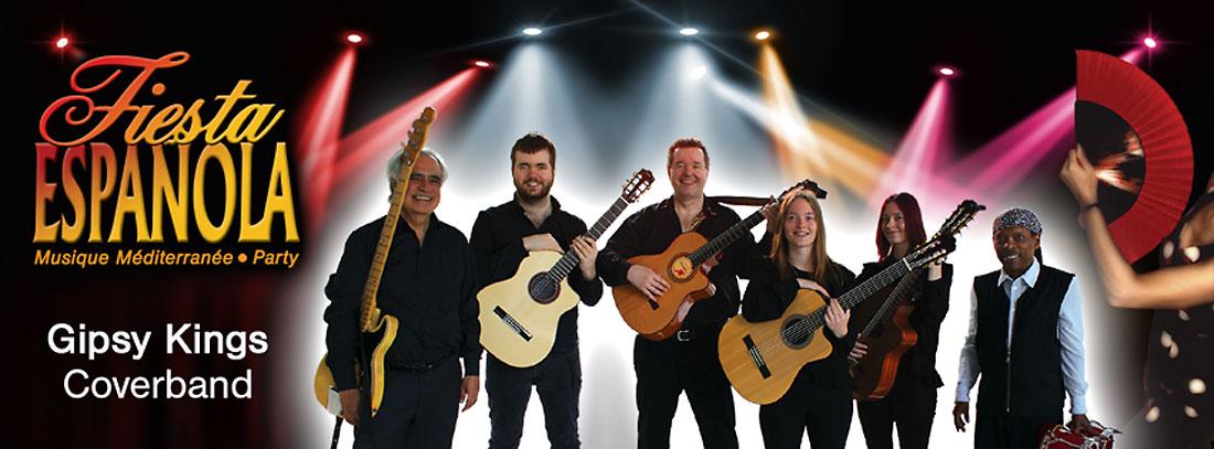 Agenturpartner werden für die spanische Coverband Gipsy Family Los Payos