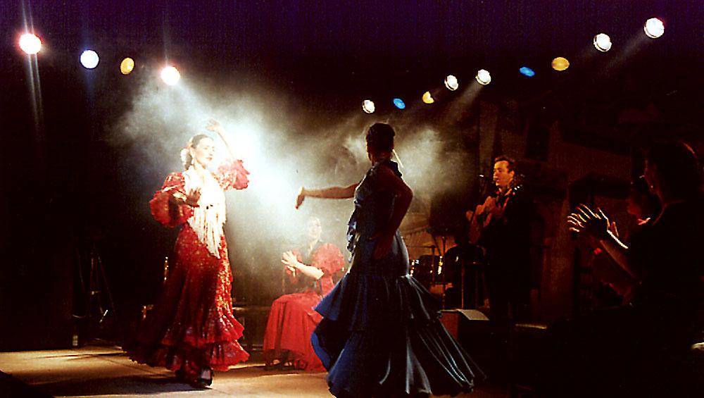 Spanische Showband Family Los Payos mit spanischer Musik von den Gipsy Kings und Flamencotanz