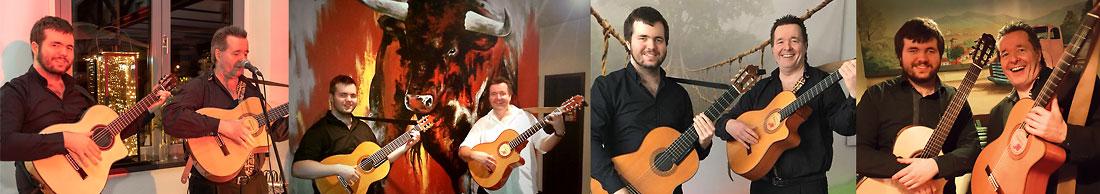Duo Los Payos mit dem Sänger und Gitarristen René el Payo und seinem Sohn Rouven an der spanischen Gitarre