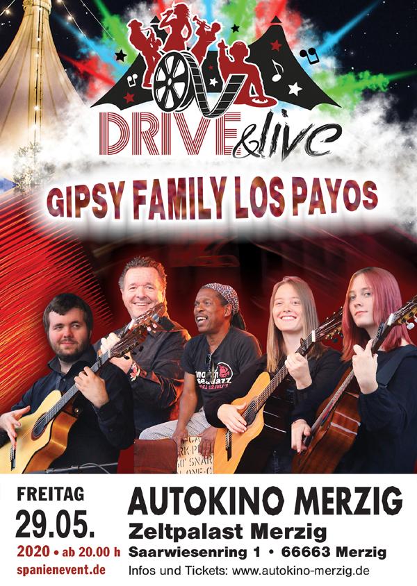 Gipsy Family im Autokino im Zeltpalast Merzig